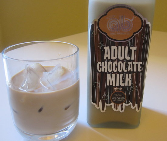 Alcoholic Chocolate Milk