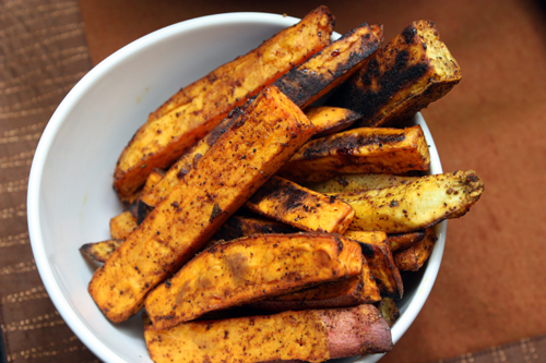 Healthy Oven Baked Sweet Potato Fries Recipe