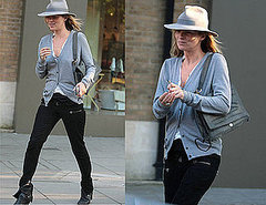 Celebrity Style: Kate Moss Out Shopping.